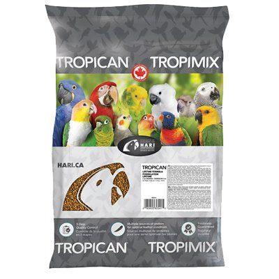 Tropican Lifetime formula 11,3kg til papegøyer
