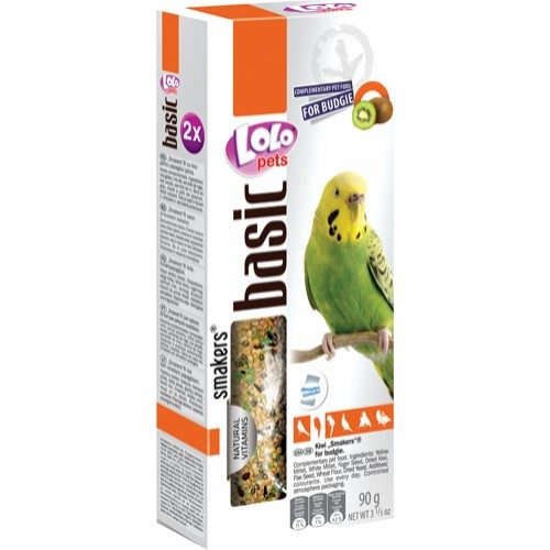 Lolo frøstang med kiwi 2pk undulat