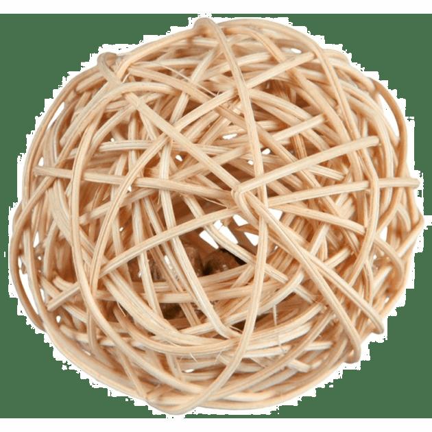 Flettet ball med bjelle 4cm