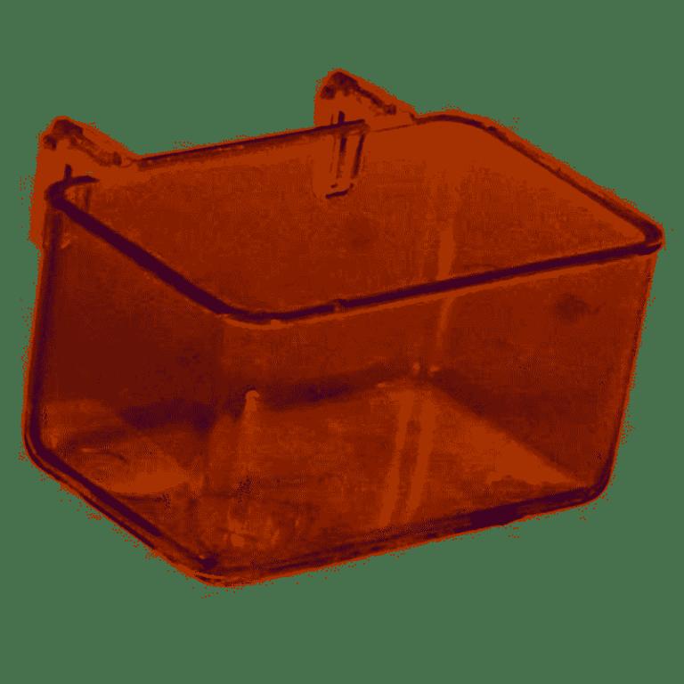 Plastskål til bur 5.5cm