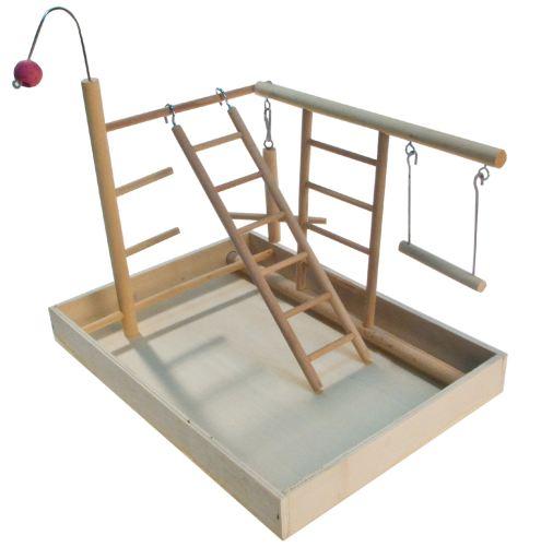 Lekeplass i tre 34x26x25cm