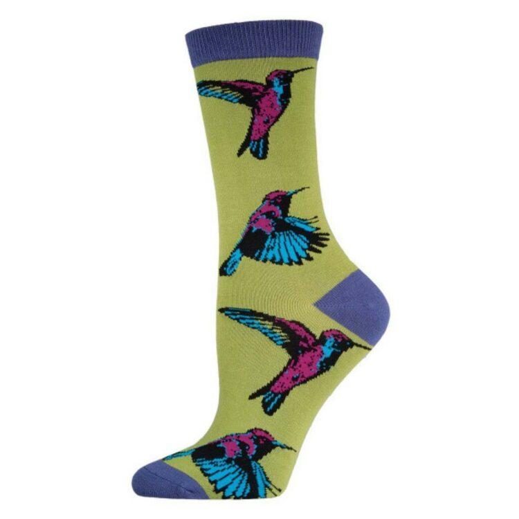 Hummingbird fly grønn-lilla