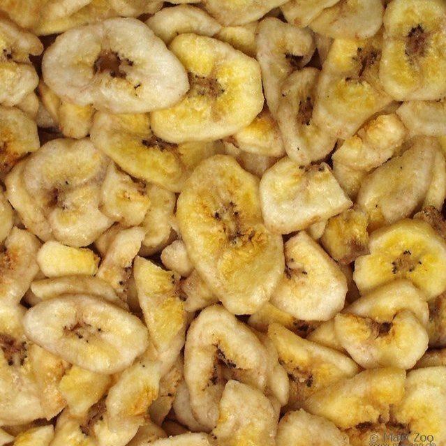 Bananchips fugl og smådyrsnacks